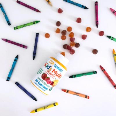 California Gold Nutrition, 兒童複合維生素軟糖