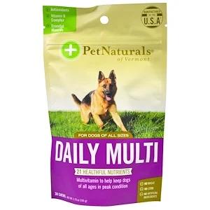 Pet Naturals of Vermont, 每日多元營養片
