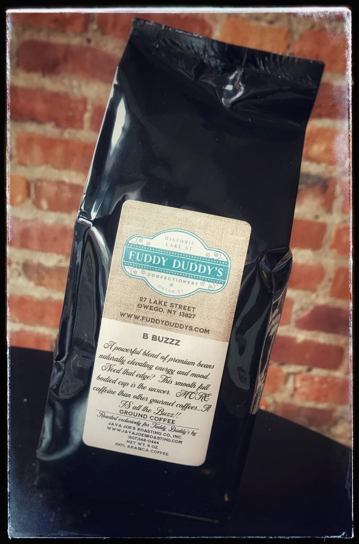 Fuddy Duddy's B Buzzz Extra Caffeinated Ground Coffee