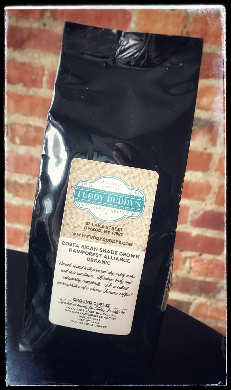 Fuddy Duddy's Costa Rican Rainforest Alliance Organic Ground Coffee