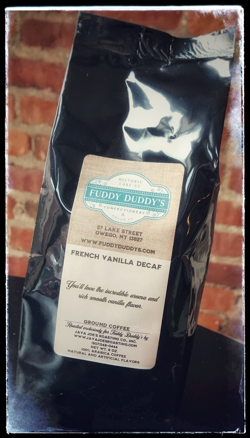 Ground Coffee - French Vanilla Decaf - 8 oz
