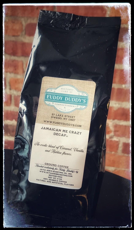 Ground Coffee - Jamaican Me Crazy Decaf - 8 oz