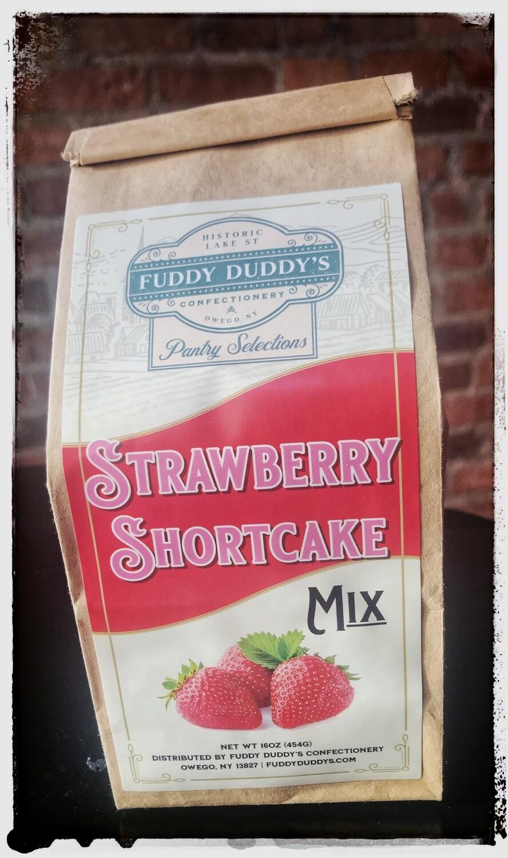 Fuddy Duddy's Strawberry Shortcake Mix