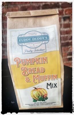Fuddy Duddy's Pumpkin Bread & Muffin Mix