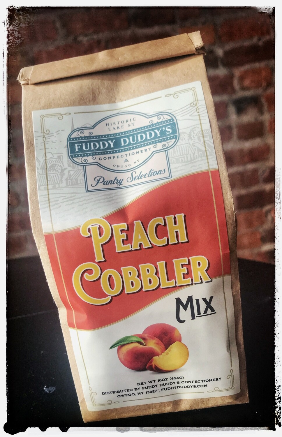Fuddy Duddy's Peach Cobbler Mix