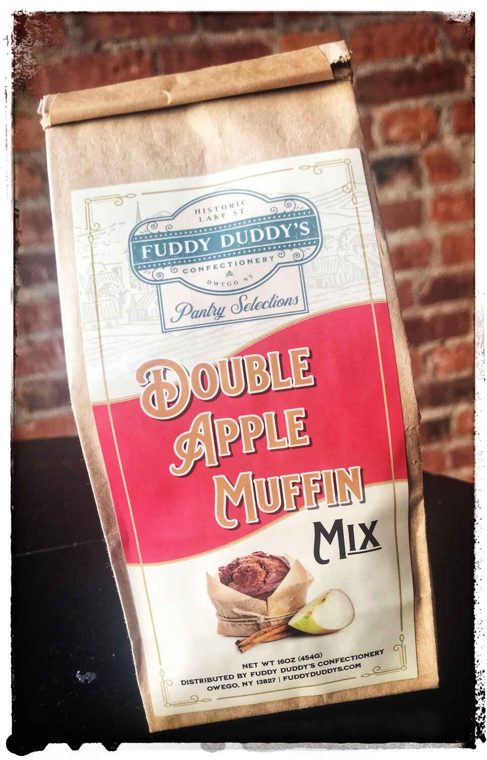 Fuddy Duddy's Double Apple Muffin Mix