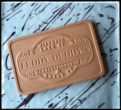 Fuddy Duddy Peanut Butter Chocolate Bar