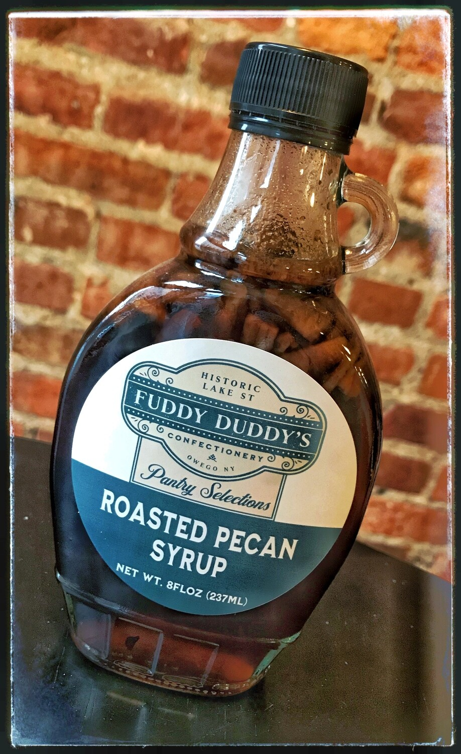 Fuddy Duddy's Roasted Pecan Syrup
