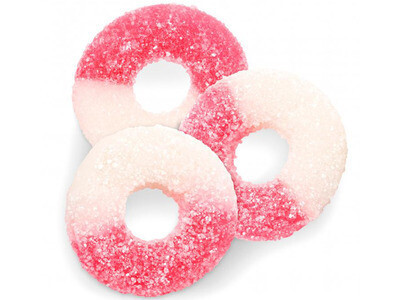 Gummy Watermelon Rings
