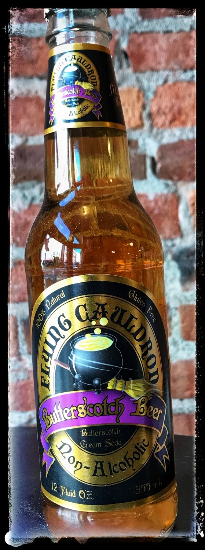 Flying Cauldron Butterscotch Beer Soda