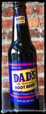 Dad's Old Fashioned Root Beer Soda