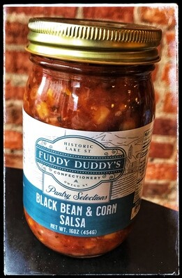 Fuddy Duddy's Black Bean & Corn Salsa