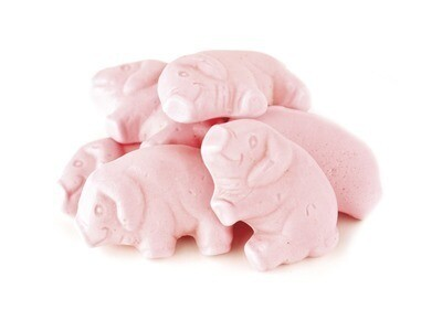 Gummy Pink Pigs