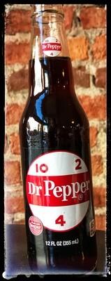 """Dr Pepper (""""10-2-4"""" Bottle) Soda"""