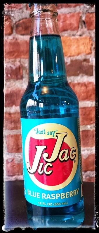 Jic Jac Soda - Blue Raspberry