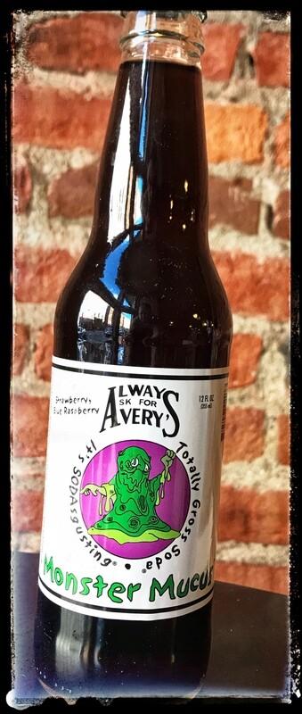 Avery's Gross Soda - Monster Mucus