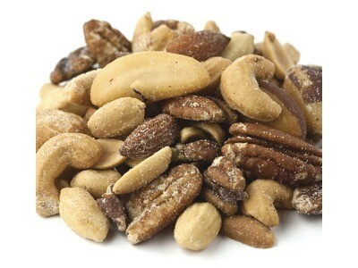 Salted Mixed Nuts w/Peanuts