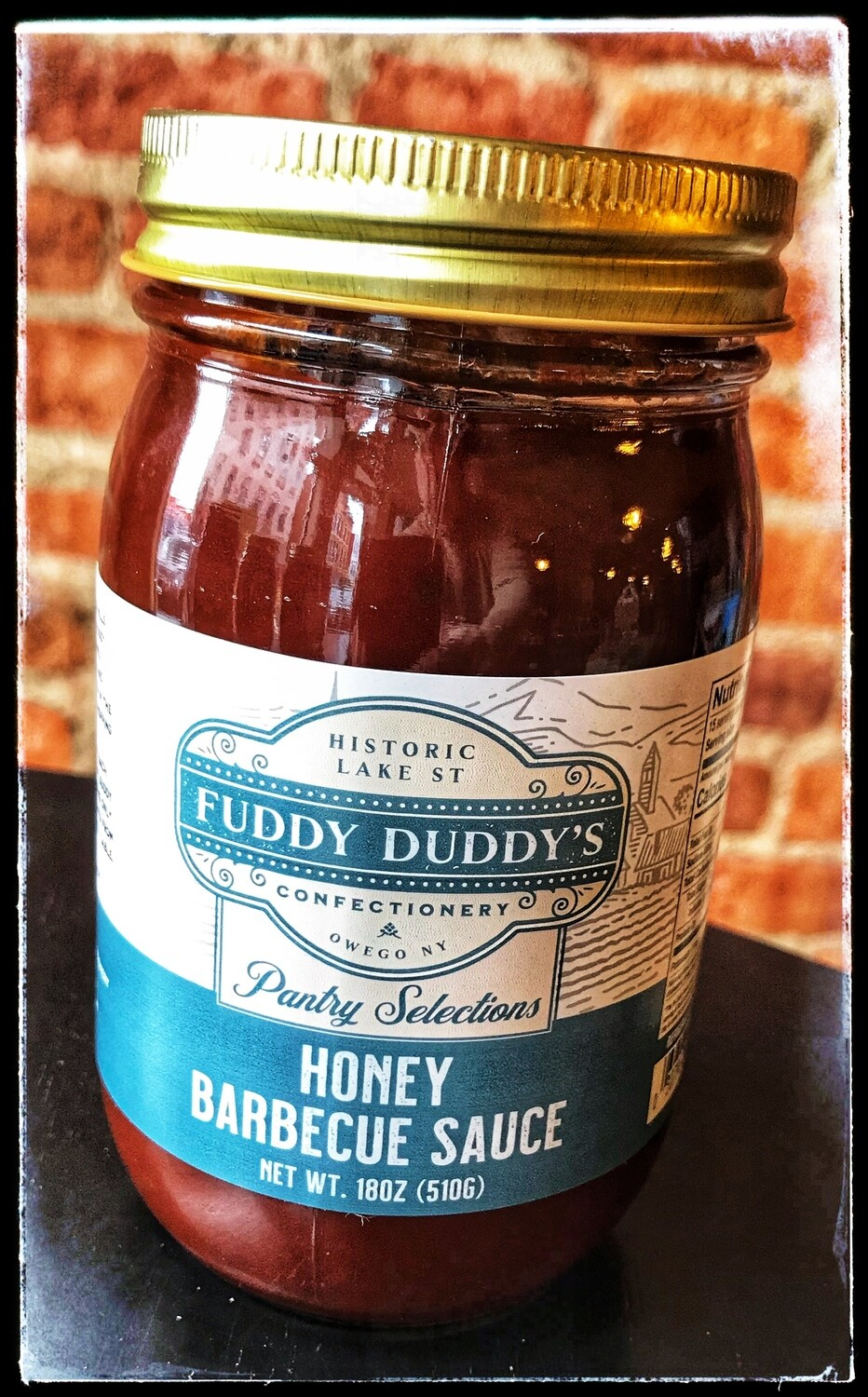 Fuddy Duddy's Honey BBQ Sauce