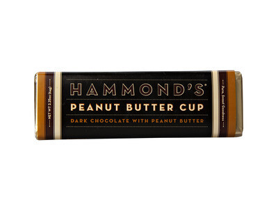 Hammond's Peanut Butter Dark Chocolate Bar