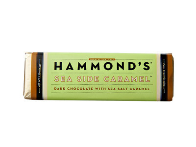 Hammond's Dark Chocolate Sea Side Caramel Bar