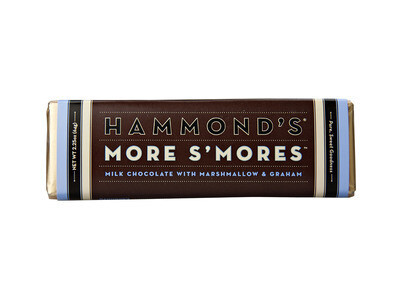 Hammond's More S'mores Milk Chocolate Bar