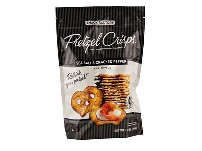Pretzel Crisps - Sea Salt & Pepper