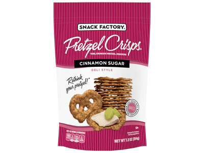 Pretzel Crisps - Cinnamon Sugar