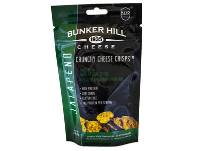 Bunker Hill Crunchy Cheese Crisps - Jalapeno