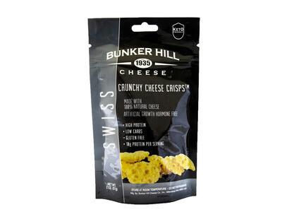 Bunker Hill Crunchy Cheese Crisps - Swiss
