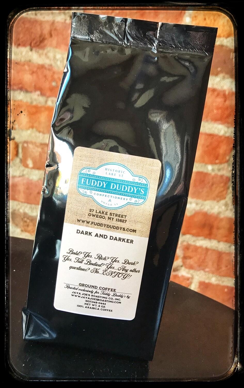 Fuddy Duddy's Dark & Darker Blend Ground Coffee