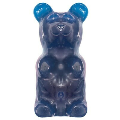 GIANT!  World's Largest Gummy Bear - BLUE RASPBERRY
