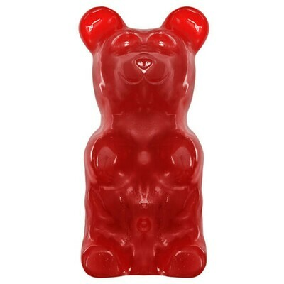 GIANT!  World's Largest Gummy Bear - CHERRY