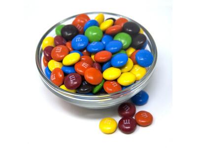 M&M Plain Chocolate Candies