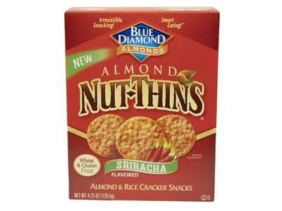 Almond Nut Thins - Sriracha