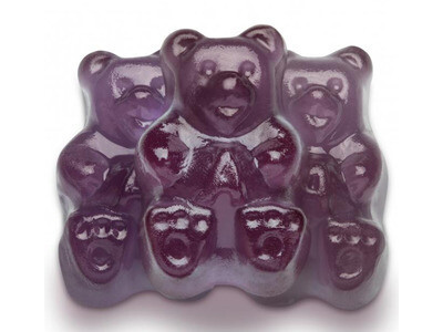 Concord Grape Gummy Bears