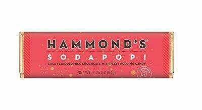 Hammond's Soda Pop Milk Chocolate Bar