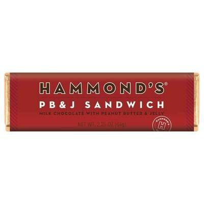 Hammond's PB&J Sandwich Bar