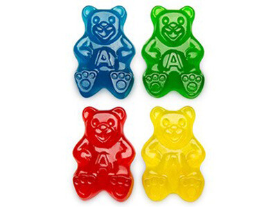 Large Gummy Papa Bears
