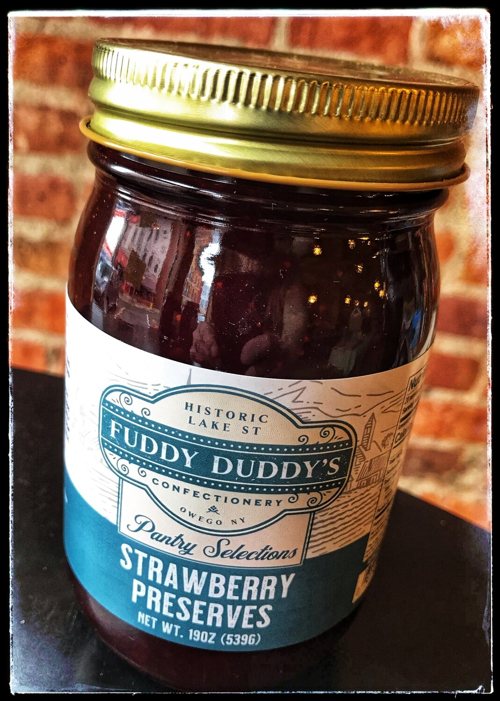Fuddy Duddy's Strawberry Preserves