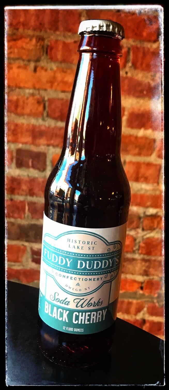 Fuddy Duddy's Black Cherry Soda
