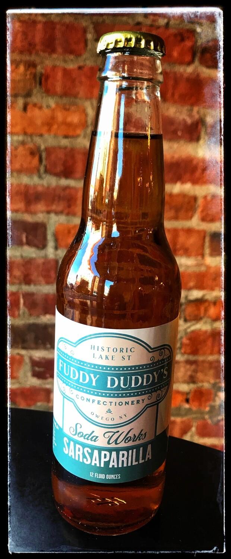 Fuddy Duddy's Sarsaparilla Soda