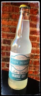 Fuddy Duddy's Orange Dry Soda