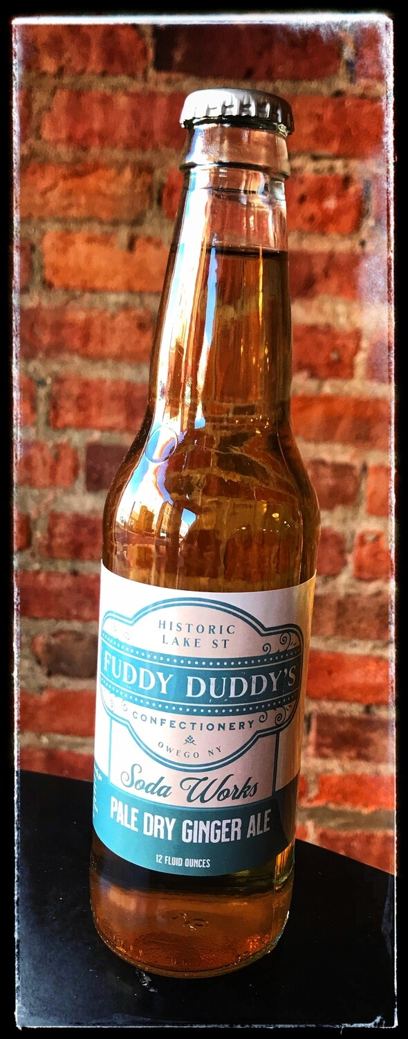 Fuddy Duddy's Pale Dry Ginger Ale Soda