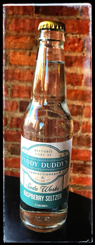 Fuddy Duddy's Raspberry Seltzer