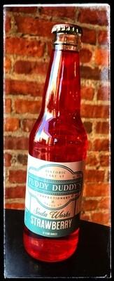 Fuddy Duddy's Strawberry Soda