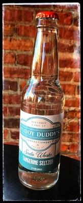 Fuddy Duddy's Tangerine Seltzer Soda