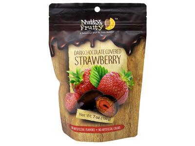 Dark Chocolate Strawberries
