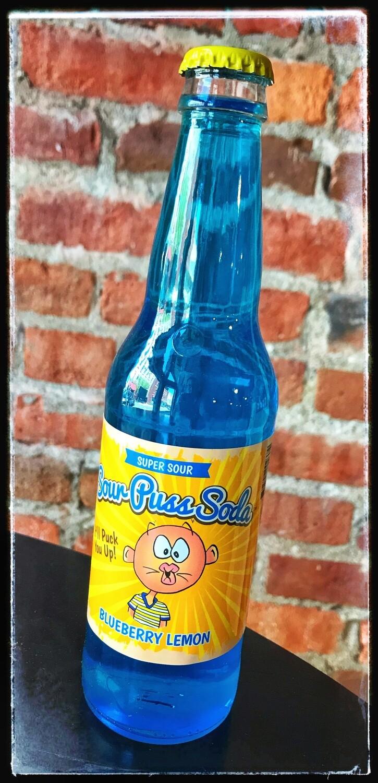 Sour Puss Soda - Blueberry Lemon