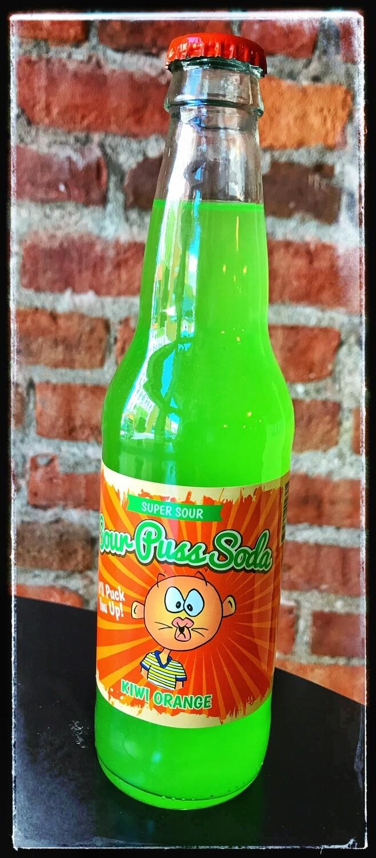 Sour Puss Soda - Kiwi Orange