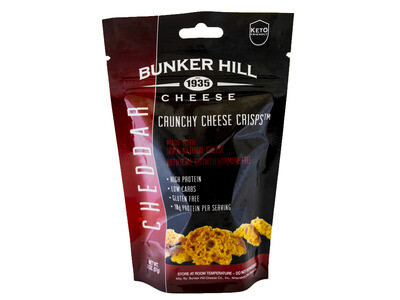 Bunker Hill Crunchy Cheese Crisps - Cheddar